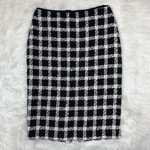 3 FOR $15! Dana Buchman Plaid Pencil Skirt